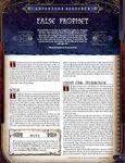 RPG Item: False Prophet
