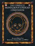 RPG Item: The Complete Monstrous Undead Compendium