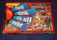 Board Game: They Think It's All Over