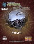 RPG Item: The Manual of Mutants & Monsters #28: Aboleth