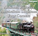 Board Game: Age of Steam Expansion: Alabama Railways, Antebellum Louisiana & Four Corners