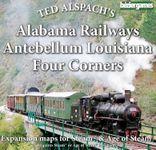 Board Game: Age of Steam Expansion: Alabama Railways, Antebellum Louisiana & Four Corners