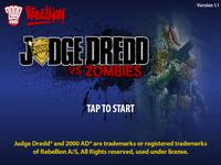 Video Game: Judge Dredd vs Zombies