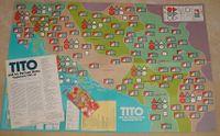 Board Game: Tito and his Partisan Army: Yugoslavia, 1941-45