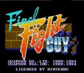 Video Game: Final Fight Guy
