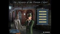 Video Game: Sherlock Holmes: The Mystery of the Persian Carpet