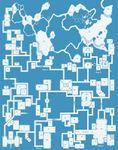 RPG Item: Old School Blue Map #1