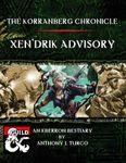 RPG Item: The Korranberg Chronicle: Xen'drik Advisory
