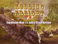 Board Game: Rolling Freight: Great Britain and India