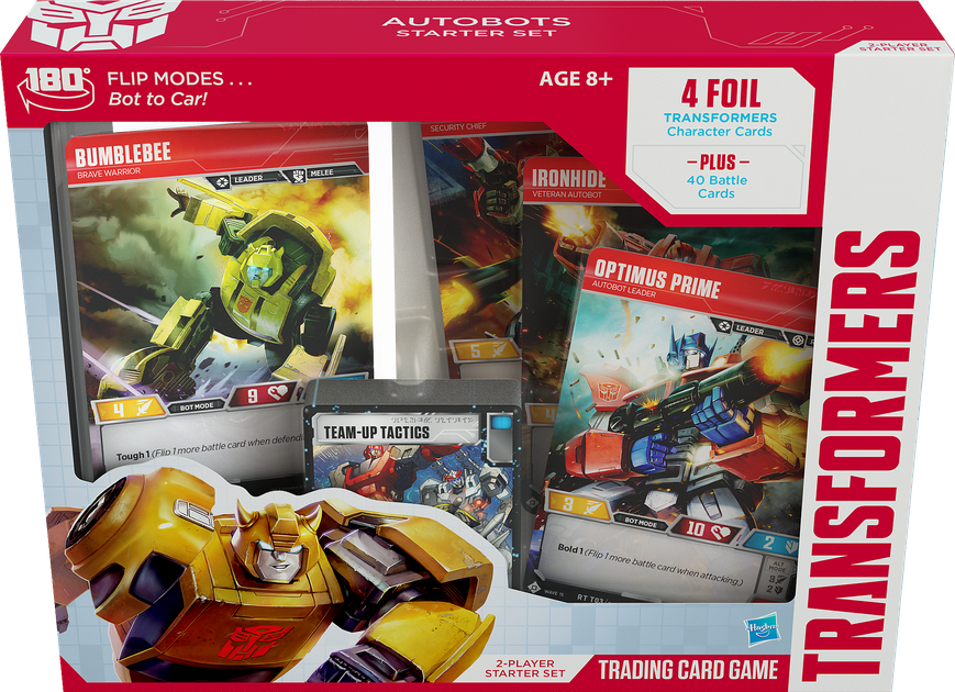 Transformers Trading Card Game Autobots Starter Set Board Game Boardgamegeek