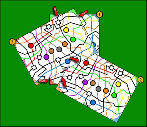 Board Game: Metro Lines