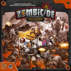 Zombicide: Invader Cover Artwork