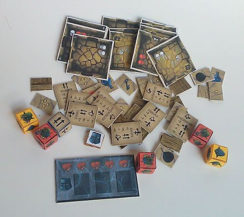 Board Game: Dungeon in a Tin