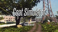 Video Game: Goat Simulator