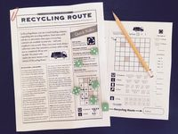 Board Game: Recycling Route