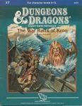 RPG Item: X7: The War Rafts of Kron