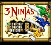 Video Game: 3 Ninjas Kick Back