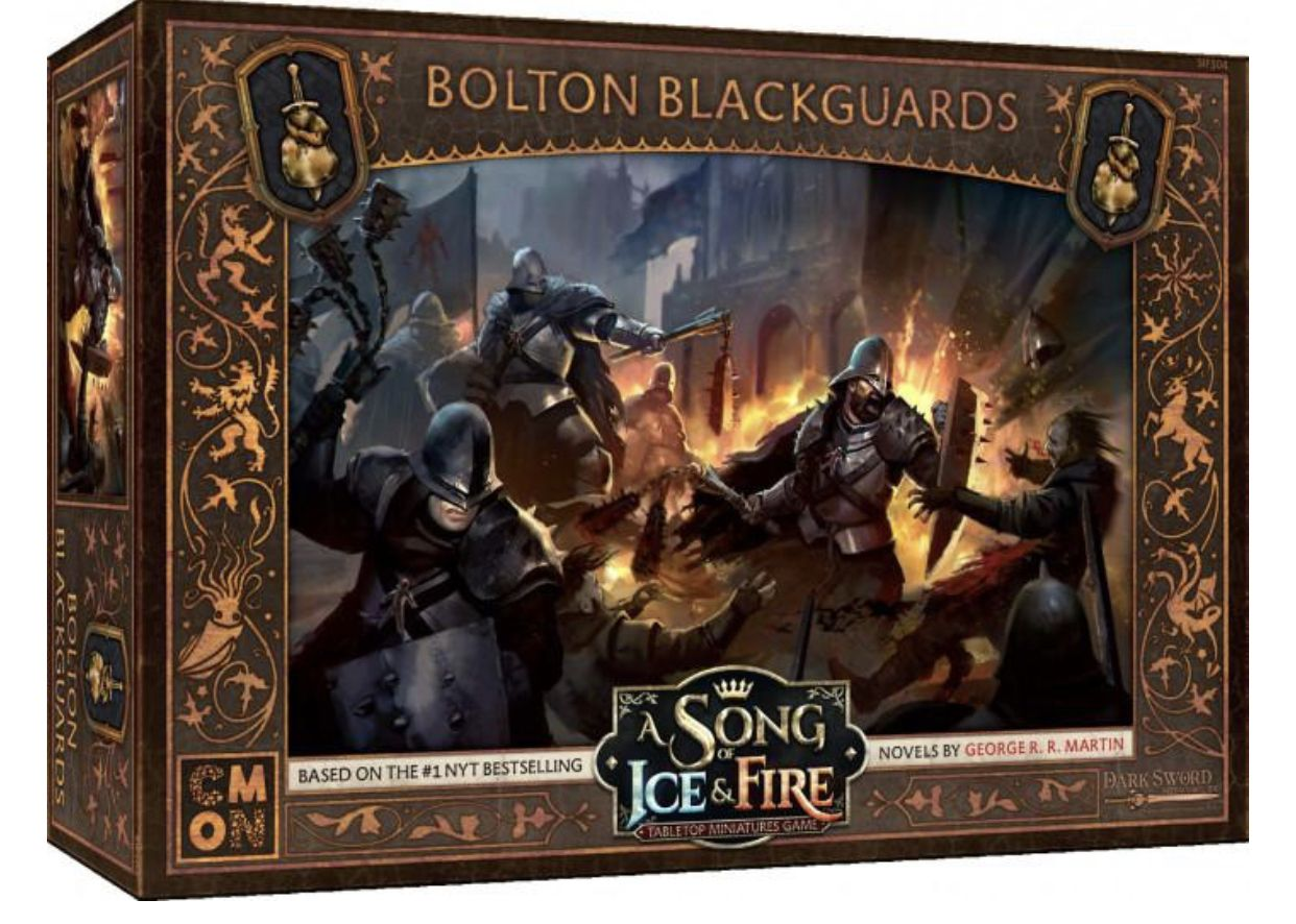 A Song of Ice & Fire: Tabletop Miniatures Game – Bolton Blackguards