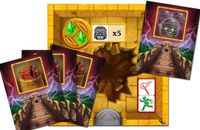 Board Game: Escape: The Curse of the Temple – Queenie 1: The Pit