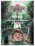 RPG Item: CCC-REAP-01: Red War: Lost Ashes of a Wayward Gnome