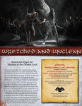 RPG Item: Wretched and Unclean