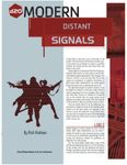 RPG Item: Distant Signals