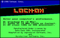 Video Game: Lock-On