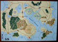 Map 15 - New map included with Wizard Kings second edition