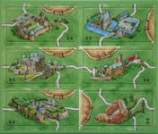 Board Game: Carcassonne: Castles in Germany