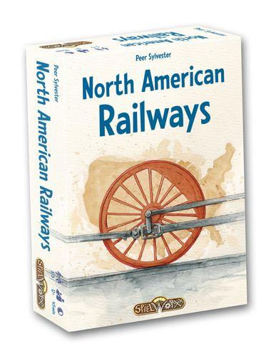 Board Game: North American Railways