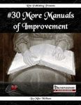 RPG Item: #30 More Manuals of Improvement