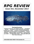 Issue: RPG Review (Issue 22 - Dec 2013)