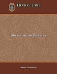 RPG Item: Herbal Lore: Botany of the Barrens (Pathfinder)