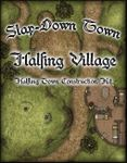 RPG Item: Slap Down Town: Halfling Village