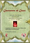 RPG Item: Characters of Class