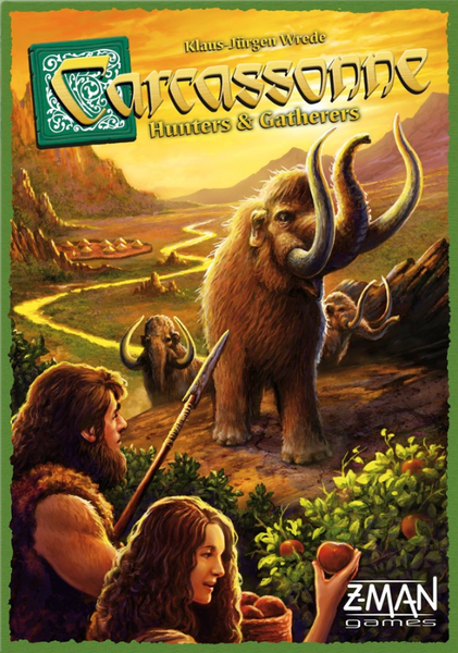 Carcassonne: Hunters & Gatherers, Z-Man Games, 2015 (image provided by the publisher)