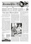 Issue: Aventurischer Bote (Issue 21 - 1989)
