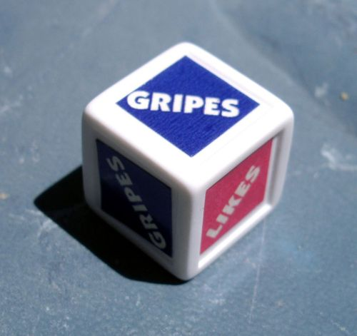 Board Game: Likes 'N Gripes