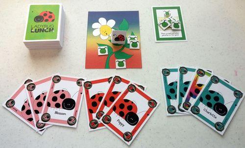 Board Game: Ladybug Lunch
