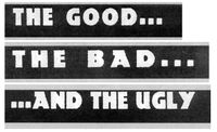 Series: The Good, The Bad, and The Ugly