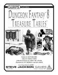 RPG Item: GURPS Dungeon Fantasy 08: Treasure Tables