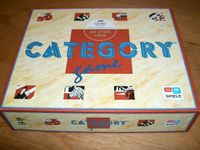 Board Game: Category Game