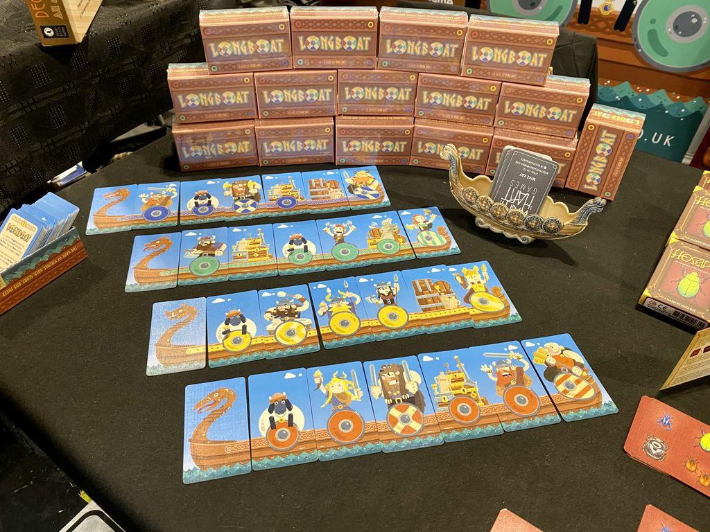 Board Game: Longboat