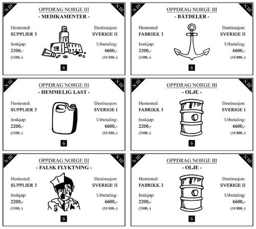Board Game: Smuglere