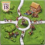 Board Game: Carcassonne: Bonusplättchen Spiel 2018