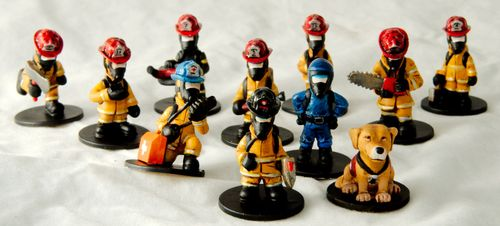 Board Game: Flash Point: Fire Rescue – Extreme Danger