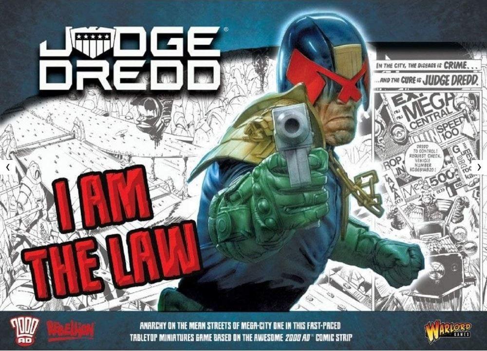 Judge Dredd: I am the Law – Starter Set