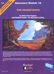 RPG Item: The Inheritance