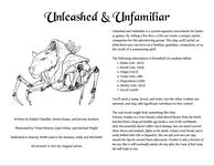 RPG Item: Unleashed & Unfamiliar