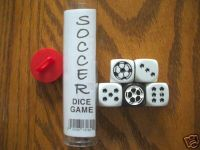 Board Game: Soccer Dice Game
